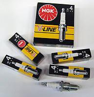 """Свечи зажигания """"NGK"""" V-Line №4 ( ВР6Е) оригинал ваз 2101 2102 2103 2104 2105 2106 2107"""