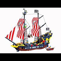 """Конструктор """"Brick""""308 """"Пиратский корабль"""" 870 дет"""