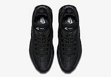 Кроссовки Nike Air Max 95 Sneakerboot All Black топ реплика, фото 2