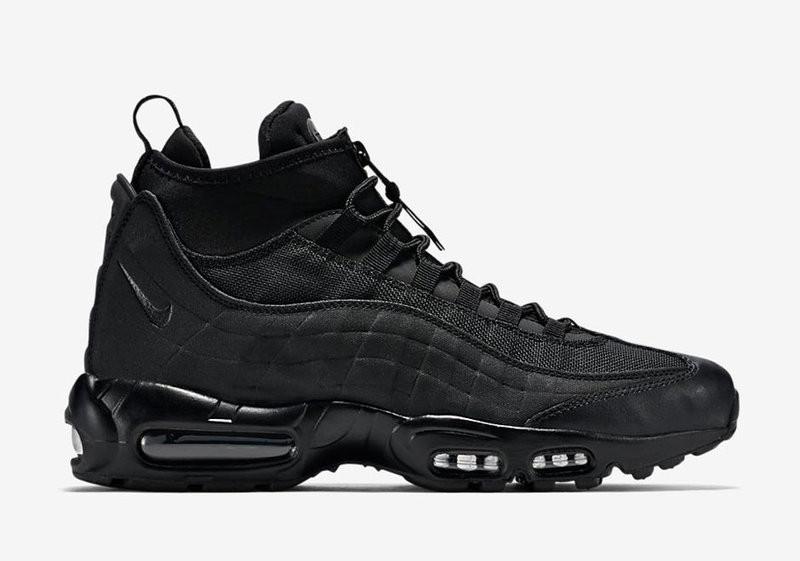 Кроссовки Nike Air Max 95 Sneakerboot All Black топ реплика