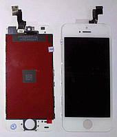 Дисплей iPhone 5S iPhone SE с cенсором белый (оригинал)