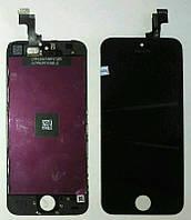 Дисплей iPhone 5S iPhone SE с cенсором чёрный (оригинал)