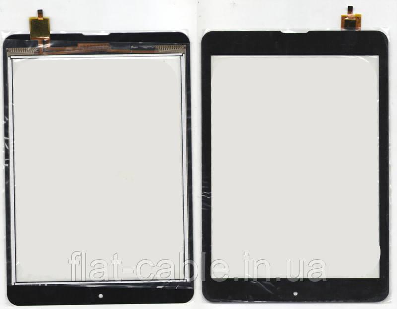 Тачскрин (сенсор) №138.1 для планшета Modecom FreeTab 1001 193x133mm 6pin Black