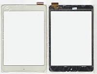 Тачскрин (сенсор) №104.6 планшета Pixus Play Seven FPC-79F2-V0 BLX 197x132 (40pin) White