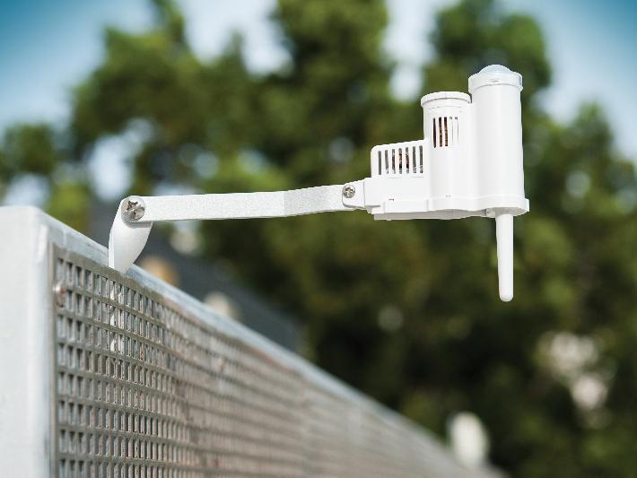 Погодный сенсор: дождь; температура; солнечная активность SOLAR-SYNC