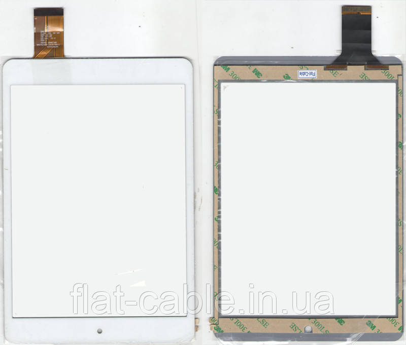 Тачскрин (сенсор) №104.3 планшета Aniol Novo 8 mini HOTATOUCH C196131A7 196x131 (40pin) White