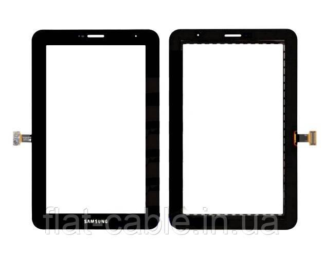 Тачскрін (сенсор) Samsung P3100 GALAXY Tab, чорний