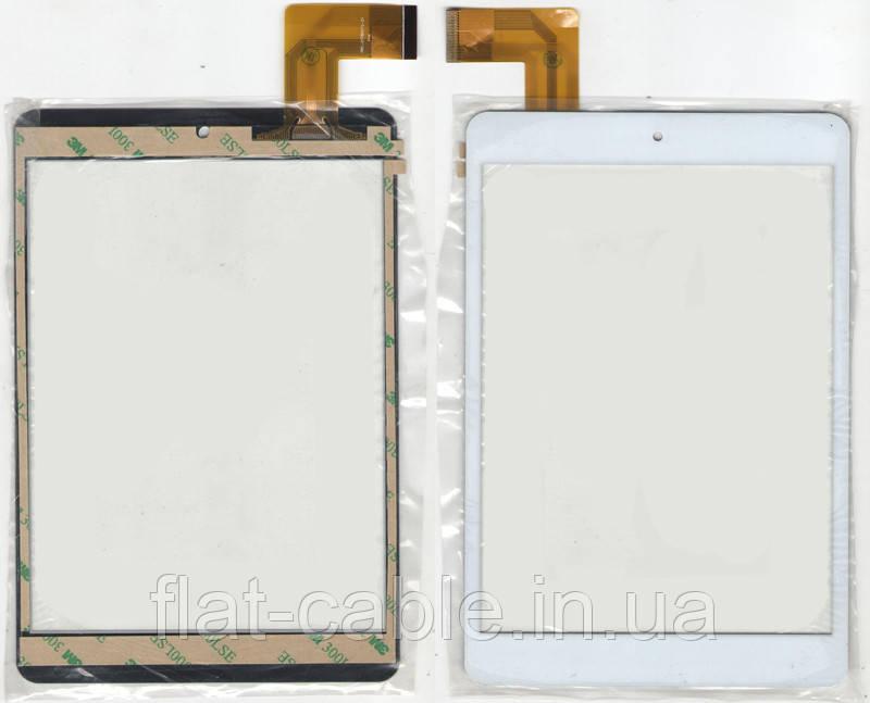Тачскрин (сенсор) №155 FPC-CY785072 White 132*196mm 36 PIN