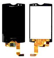 Дисплей + сенсор Sony Ericsson SK17i Xperia Active чёрный