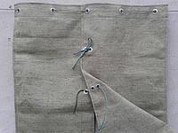 Пошив штор из брезента