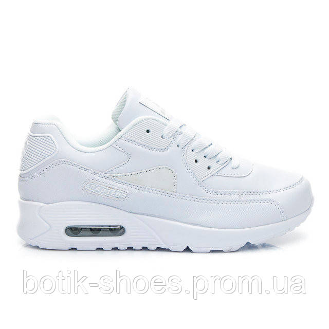 a1a1c66a7f69 Женские белые кроссовки Nike Air Max 90, копия - интернет-магазин обуви