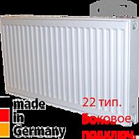 Радиатор стальной Kermi FK0220510 500x1000 22 тип боковое подключение