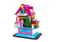 Детский конструктор AUSINI двухэтажный домик 3 вида