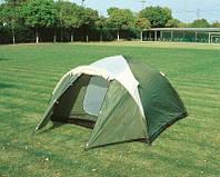 Палатка двухслойная четырех 4 местная монтана с тамбуром bestway