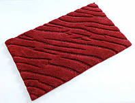 Коврик для ванной Irya Swell красный (70x120 см.)