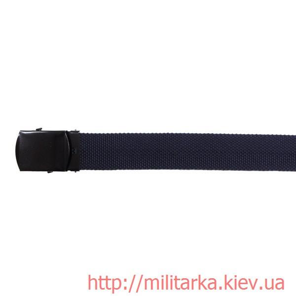 Ремень военный MFH 30 мм синий