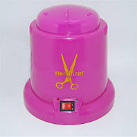 Стерилизатор для маникюрного инструмента, кварцевый, шариковый, розовый