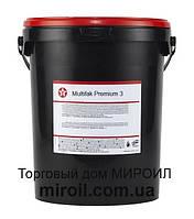 Смазка TEXACO Multifak Premium 3 ведро 18кг