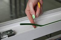 Установка заглушки паза штапика. Окна двери ПВХ Киев