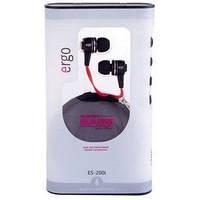 Наушники MP3 ERGO ES-200i  + микрофон