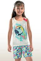 Пижама для девочек с шортиками