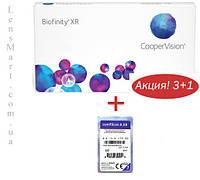 Контактные линзы Biofinity XR (4 шт.)