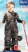Зимние лыжные брюки детские Lupilu размер на рост 86-92 см