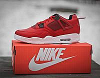 Кроссовки мужские баскетбольные Nike Air Jordan Red (реплика)