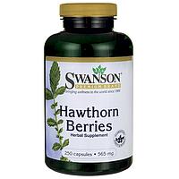 Боярышник экстракт Hawthorn Berries Swanson, 565 мг, 250 капсул