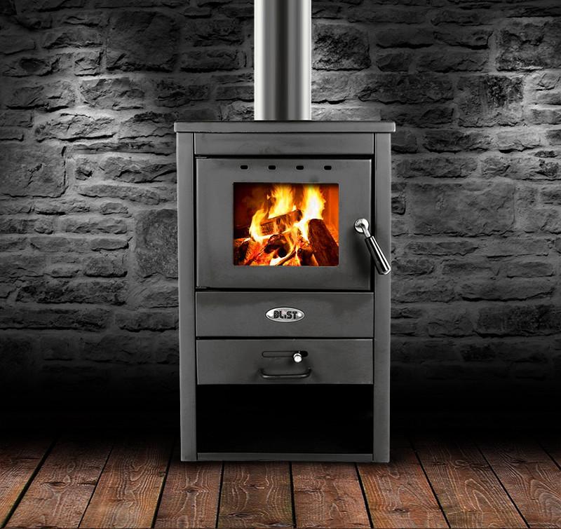 Стальная печь-камин ARNIS 7 kW
