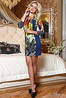 Принтовое  платье женское(44-50р) ,доставка по Украине