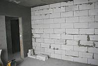 Возведение стен и перегородок из пено-гипсо газоблоков