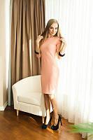 Элегантное приталенное платье, разные цвета