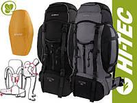 Туристический рюкзак  HI-TEC Katanga 65 Л, черный