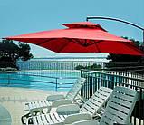 Садовый зонт Desco ,250х250 см.коричневый, фото 5