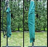Садовый зонт Desco ,250х250 см.коричневый, фото 8