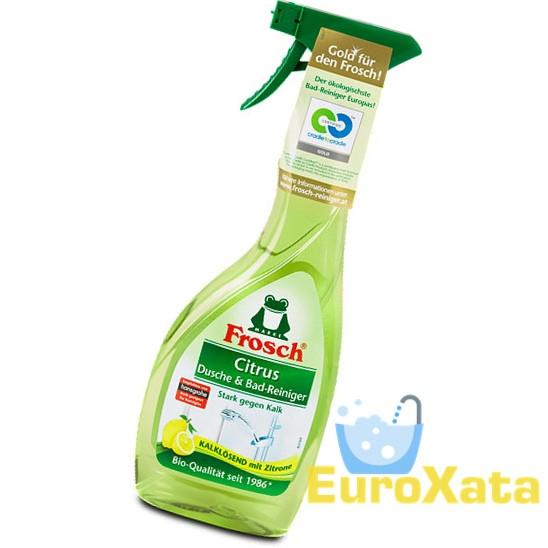 Очиститель для ванны и душа Frosch Citrus Dusche & Bad-Reiniger 0.5 л