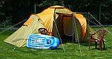 Палатка Abarqs Marakesz-4,тамбур,2 цвета, фото 4