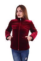 Женская куртка К-025 Бордо