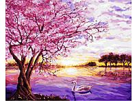 "Раскраска по номерам Mariposa ""Закат в розовых тонах"" 40 х 50 см"