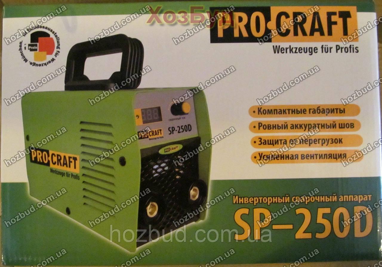 Інверторний зварювальний апарат PROCRAFT SP-250D