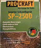 Инверторный сварочный аппарат PROCRAFT SP-250D, фото 9