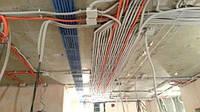 Разводка электропроводки в жилых помещениях любой сложности