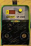 Инверторный сварочный аппарат PROCRAFT SP-250D, фото 5