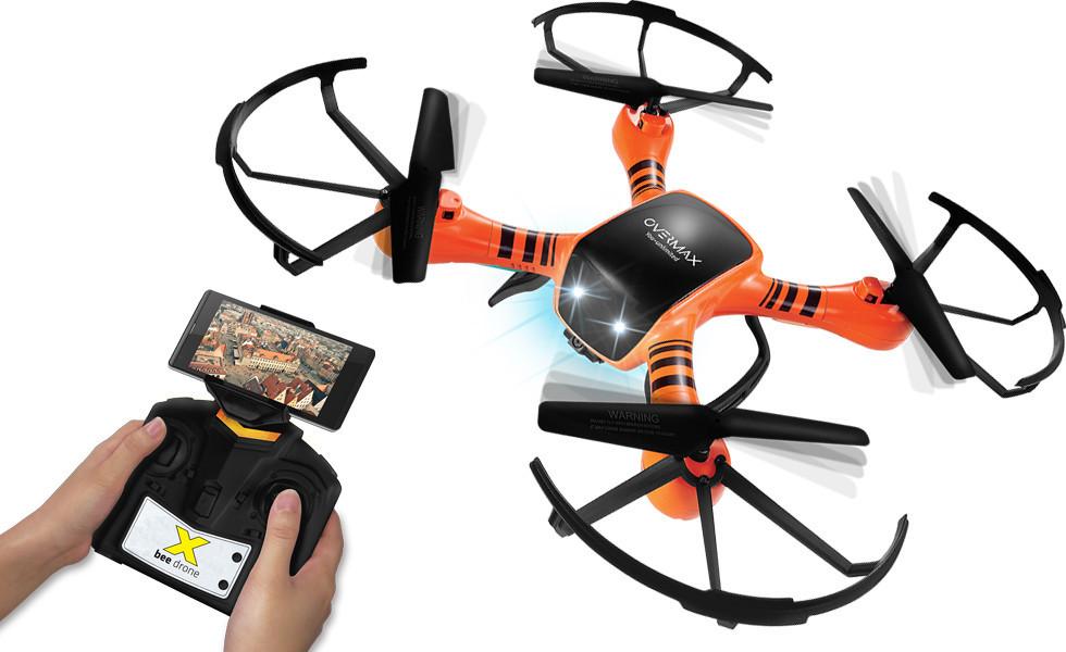 Квадрокоптер-дрон OVERMAX X Bee 3.5