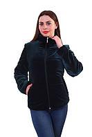 Женская куртка К-025 Темно-Зеленый