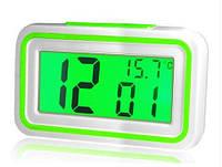 Часы-будильник говорящие KK-9905 TR, часы настольные электронные, многофункциональные часы, оригинальные часы
