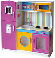 Кухня деревянная Rainbow Кукольный домик игровой домик домик для барби