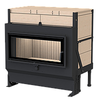 Массивная теплоаккумулирующая печь Brunner GOT 38/86-ZL side-opening door + GOF 86 x 42 cm