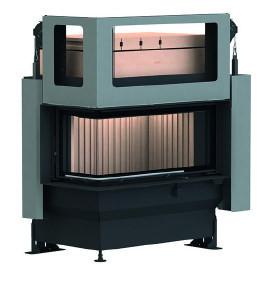 Массивная теплоаккумулирующая печь Brunner GOT 38/86/36 ZL left lifting door + GOF 64 x 35 cm